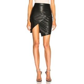 H&M - レザー スカート
