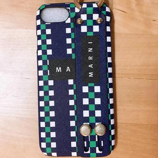 マルニ(Marni)のiphone7 /iphone8ケース マルニ 新品未使用(iPhoneケース)