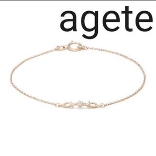 agete - agete/ティアラ/ブレスレット/ダイヤ/K10