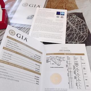 ダイヤモンドルース 0.55カラット GIA鑑定書付(リング(指輪))