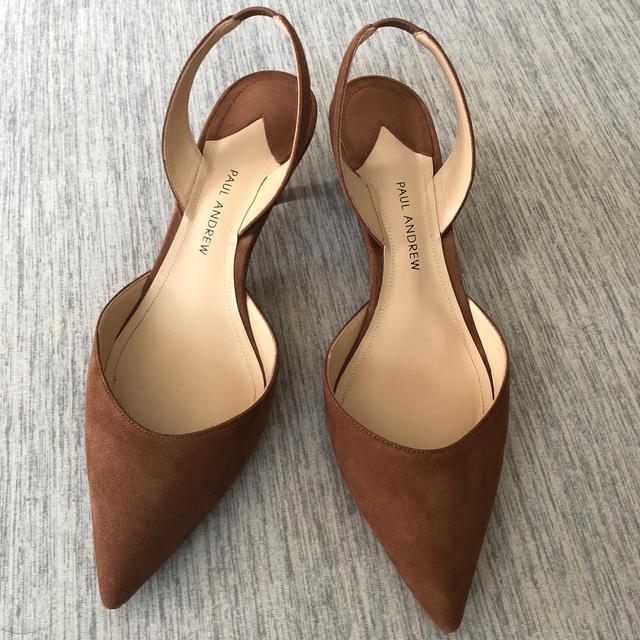 DEUXIEME CLASSE(ドゥーズィエムクラス)のPAUL ANDREW バックストラップ 37 レディースの靴/シューズ(ハイヒール/パンプス)の商品写真