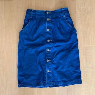 ミスティウーマン(mysty woman)のジーンズタイトスカート(デニム/ジーンズ)