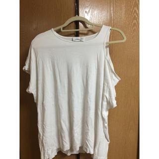 ブラックゴールド(BLACK GOLD)のDIESEL BLACK GOLD 肩開き ティーシャツ(Tシャツ(半袖/袖なし))