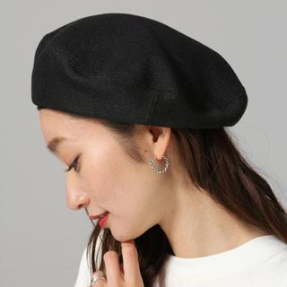 ジーナシス(JEANASIS)の新品未使用!ジーナシス ベレー帽(ハンチング/ベレー帽)