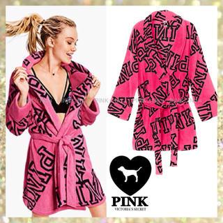 ヴィクトリアズシークレット(Victoria's Secret)のラスト1点❣️♡VS PINK♡ふわもこローブ ガウン ルームウェア(ルームウェア)