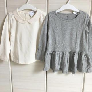 ベビーギャップ(babyGAP)の新品♡baby gap 100 トップス 2枚セット ロンT(Tシャツ/カットソー)