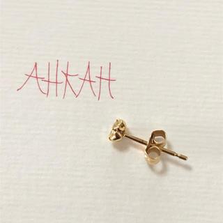 AHKAH - 本日限定価格‼️アーカー  ティアスタッドピアス k18 ダイヤ 片耳