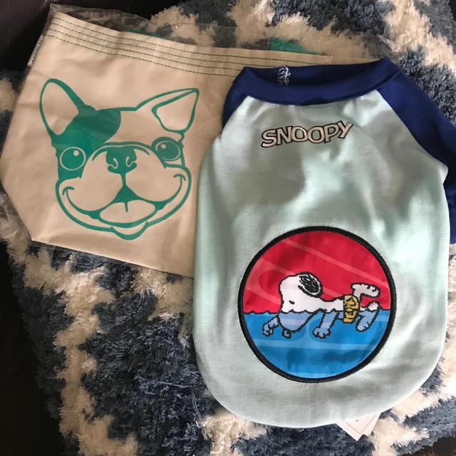 SNOOPY(スヌーピー)の犬 服 3号 ✳️新品✳️おまけ付き その他のペット用品(犬)の商品写真