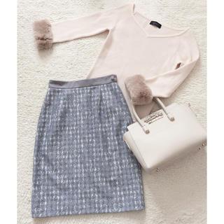 PROPORTION BODY DRESSING - プロポ♡ギンガムチェックレースタイトスカート