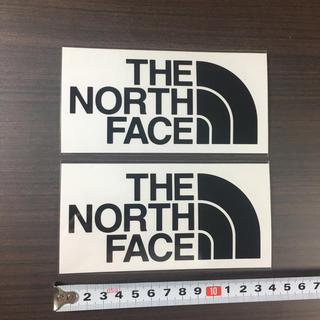 THE NORTH FACE - 472 ☆ ノースフェイス ステッカー 2点 ☆ カッティング