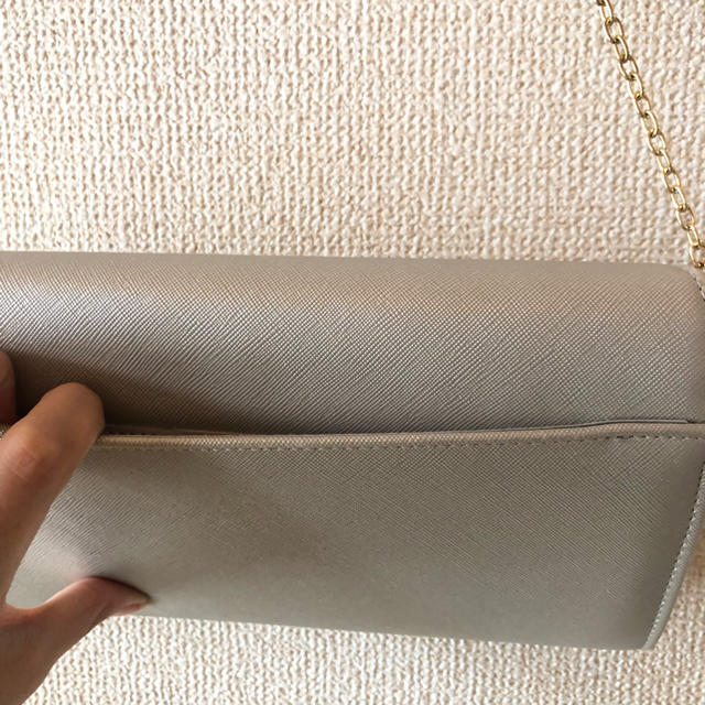 Rope' Picnic(ロペピクニック)の【みみみ様専用】クラッチバッグ(シルバー) レディースのバッグ(クラッチバッグ)の商品写真