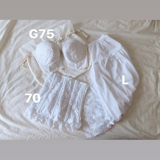 セモア ブライダルインナー G75 70