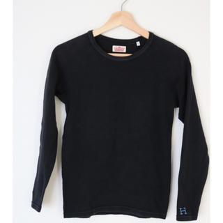 ハリウッドランチマーケット(HOLLYWOOD RANCH MARKET)のHOLLYWOOD RANCH MARKET ロンT 1 ブラック(Tシャツ(長袖/七分))