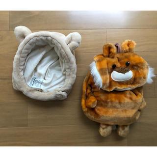 ムージョンジョン(mou jon jon)のムージョンジョン アニマルリュック&帽子(リュックサック)