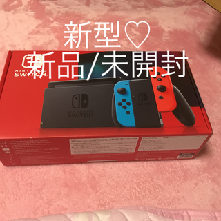 Nintendo Switch - 新型♡ニンテンドースイッチ本体/ネオンカラー♡未開封