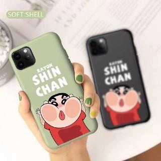 iPhone - 可愛い 新ちゃん iphone 11 ケース