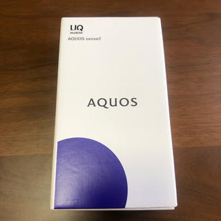 AQUOS - AQUOS sense2 シルキーホワイト SHV43
