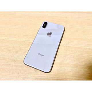 Apple - iPhone X Silver 256 GB docomo