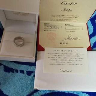 カルティエ(Cartier)のカルティエ2Cリングホワイトゴールド(リング(指輪))