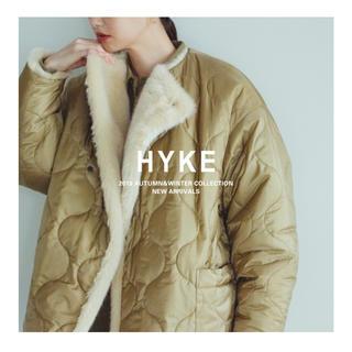 ハイク(HYKE)のhyke フェイクファーリバーシブル ショートコート 2019/AW(毛皮/ファーコート)