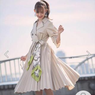 Rirandture - スカーフ付きドレストレンチコート
