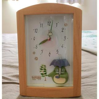 ジブリ(ジブリ)のとなりのトトロ 置き型目覚まし時計(置時計)