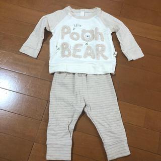ベビーギャップ(babyGAP)のGAP baby pooh セットアップ 70(トレーナー)