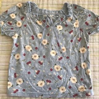 ピンクハウス(PINK HOUSE)のPINK HOUSE Lサイズ 115〜125cm 日本製 半袖トップス(Tシャツ/カットソー)