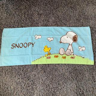 スヌーピー(SNOOPY)のSNOOPY タオル(タオル/バス用品)