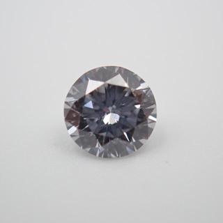0,222ct 天然 ブルーダイヤモンド ルース ストーン(リング(指輪))