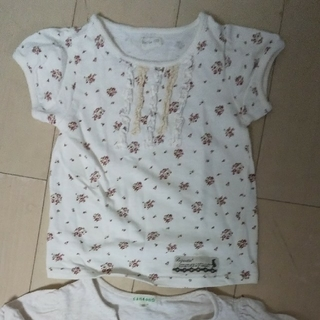 サンカンシオン(3can4on)のサンカンシオン  ビケット  カットソー  110cm(Tシャツ/カットソー)