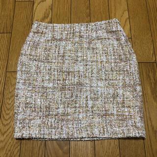 サリア(salire)のsalire  サリア ツイードスカート(ミニスカート)