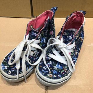ヴァンズ(VANS)の子ども 靴 シューズ スニーカー ブーツ くつ 16cm 花柄 バンズ vans(スニーカー)