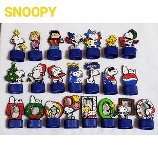 スヌーピー(SNOOPY)のpepsiコーラ スヌーピーマスコット ボトルキャップ 22個セット(ノベルティグッズ)