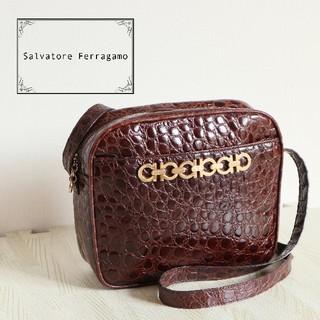 Salvatore Ferragamo - 正規品 Ferrgagamo 6連ガンチーニ ショルダーバッグ