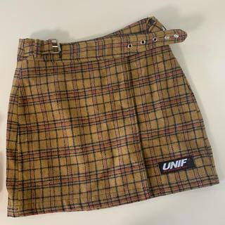 ユニフ(UNIF)のunif スカート(ミニスカート)