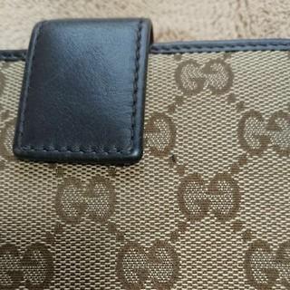 グッチ(Gucci)の確認用2 GUCCI グッチ GGキャンバス 二つ折り財布(財布)
