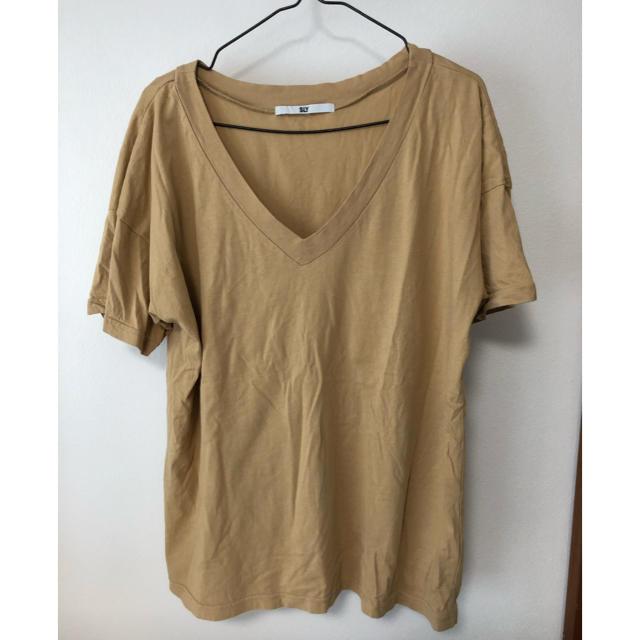 SLY(スライ)のSLY アースカラー✴︎Tシャツ レディースのトップス(Tシャツ(半袖/袖なし))の商品写真