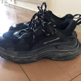 Balenciaga - バレンシアガ  tripleS ブラック 44