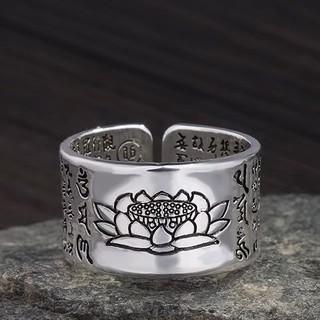 蓮の花リング アクセサリー シルバー(リング(指輪))