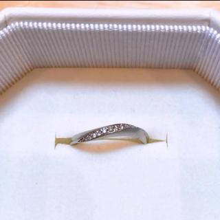 ヨンドシー(4℃)の月末まで!4°C ダイヤモンドリング pt950(リング(指輪))