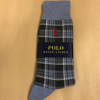 ポロラルフローレン(POLO RALPH LAUREN)の新品 メンズ  POLO ポロラルフローレン 人気柄ソックス 日本製(ソックス)