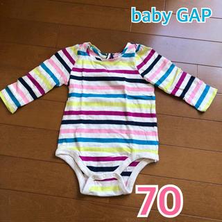 ベビーギャップ(babyGAP)の★ baby Gap ★ ベビーギャップ カットソー / シャツ / ボディ(ロンパース)
