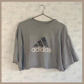 adidas - adidas 古着 リメイクTシャツ