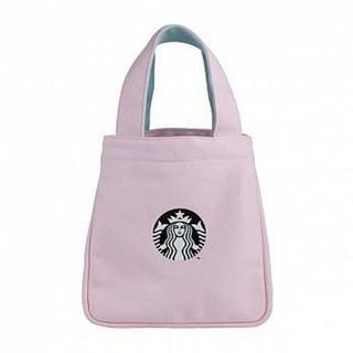 スターバックスコーヒー(Starbucks Coffee)のスターバックス:トートバッグ ピンク 桜シリーズ スタバ 台湾(トートバッグ)