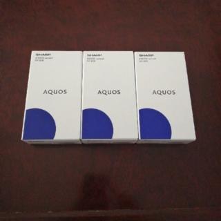 SHARP - AQUOS SHARP SH-M08 本体 3台セット
