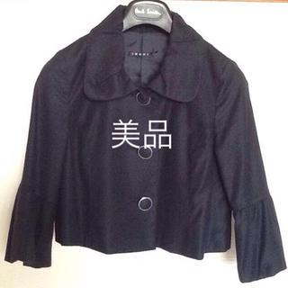 イング(INGNI)のINGNI🌟美品  ネイビー ショート丈ジャケット(テーラードジャケット)