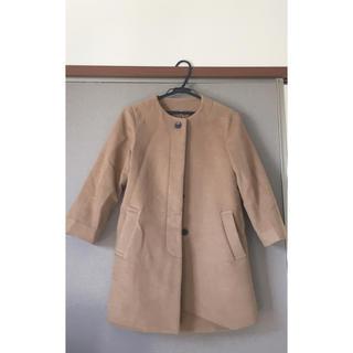 ムジルシリョウヒン(MUJI (無印良品))の無印良品 ノーカラーコート sサイズ(ノーカラージャケット)