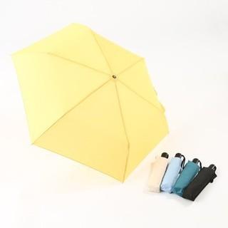 スリーコインズ(3COINS)の3coins 自動開閉折り畳み傘 黒 55cm(傘)