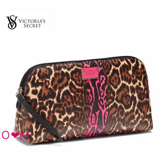 ヴィクトリアズシークレット(Victoria's Secret)のVICTORIA'S SECRET ポーチ/ヒョウ柄(ポーチ)